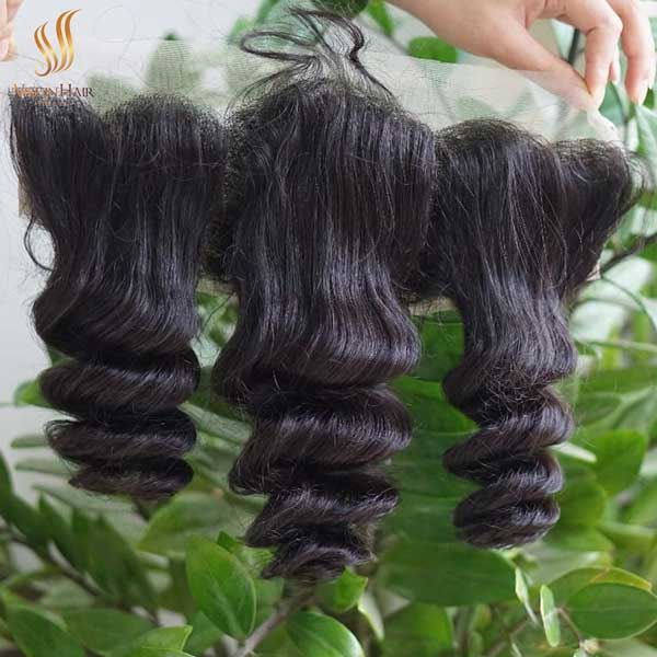 13x4 lace frontal wig loose wave hair