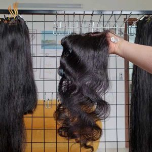 5x5 closure wholesale price middle-part body wave 16 inch