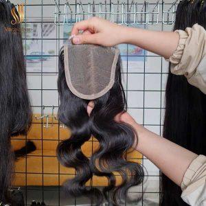BODY WAVE Bundles With Closure - hair extensions - Vietnam human hair