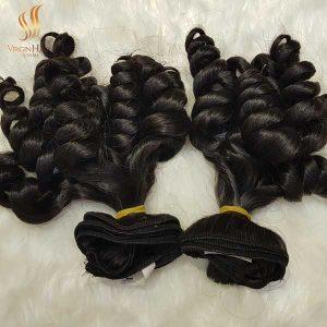 Double drawn funmi hair cambodian raw hair -raw virgin hair