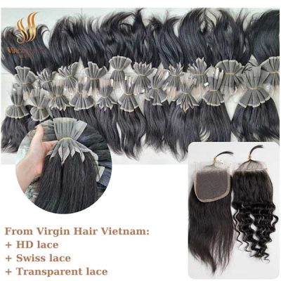 The types of lace closure from Virgin Hair Vietnam