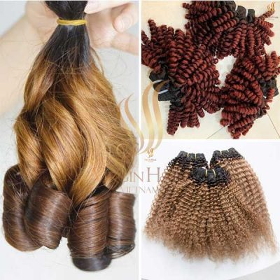 Beautiful hair styles and colors from Virgin Hair Vietnam