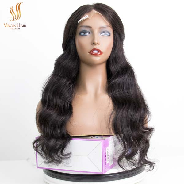 lace front wigs - lace front pre plucked wigs - virgin human hair wigs