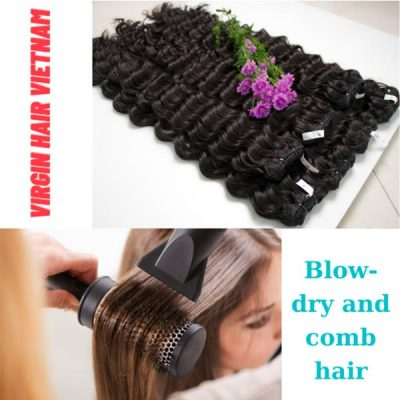Are you sure you've dried and combed your hair properly?
