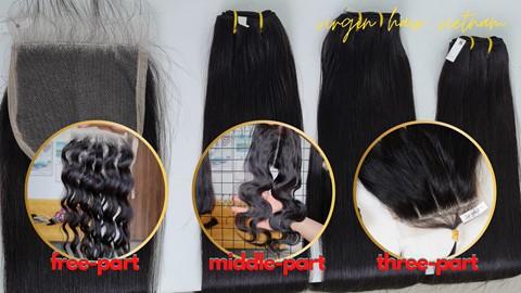 lace closure part