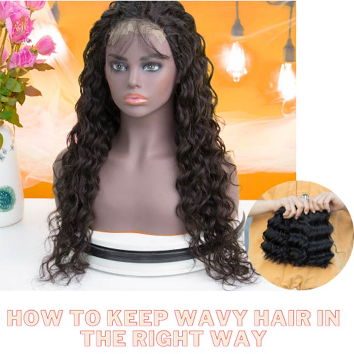 How to keep wavy hair in the right way