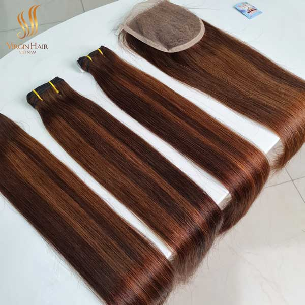 piano hair - cuticle aligned virgin hair - virgin hair vietnam