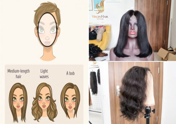 Hairstyles suitable for oval face