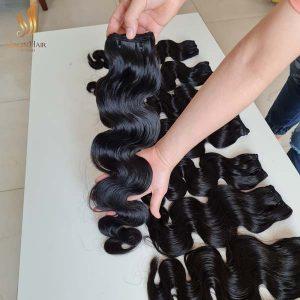 closure and bundles - wholesale price body wave hair - vietnamese hair