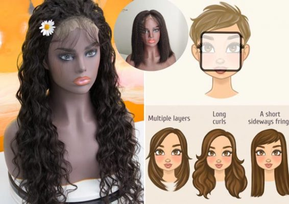 Hairstyles suitable for square face