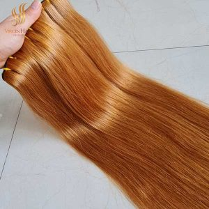blonde hair bundles - human hair extensions - vietnam human hair