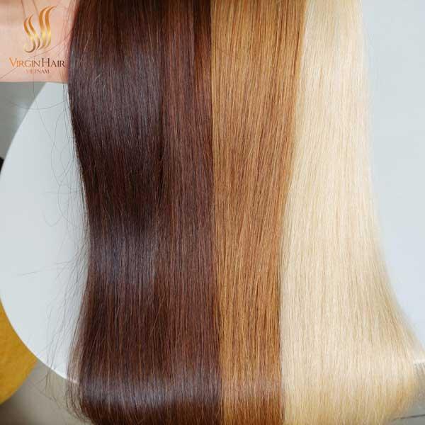 double weft hair extensions - Vietnamese hair - 613 virgin hair bundles