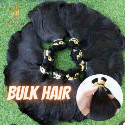 Raw hair 100% human hair from Virgin Hair Vietnam