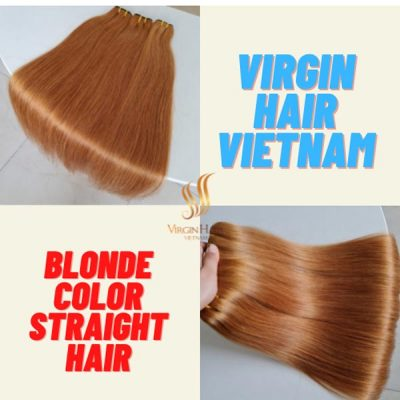 Blonde color straight 26 inches