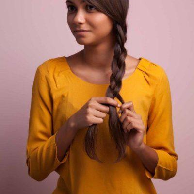 a-loose-three-strand-braid