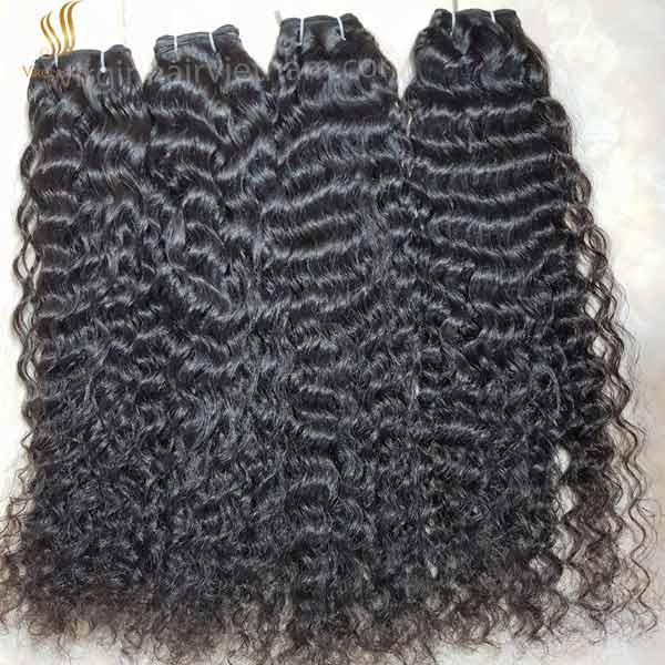 curly human hair - raw vietnam hair - human hair extensions