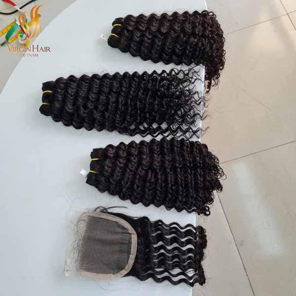 raw cambodian curly hair raw cambodian curly hair - human hair extensions - hair bundles with closure