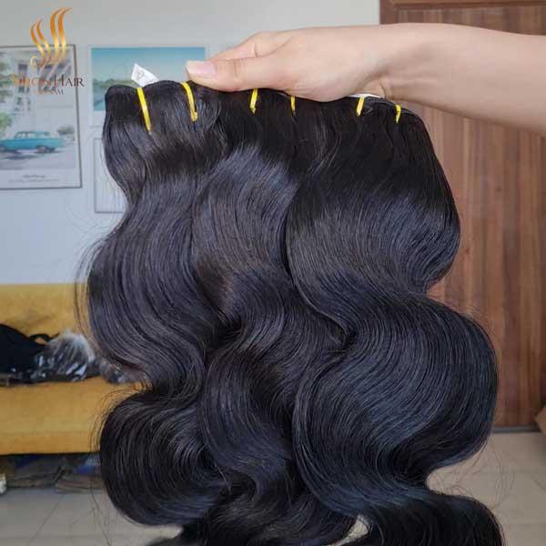 body wave hair bundles - raw virgin hair unprocessed - body wave lace wig