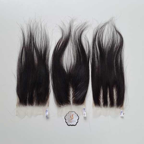 4x4 Closure Straight Hair