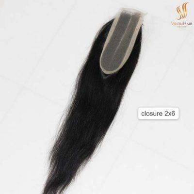 2x6 Closure Straight Hair