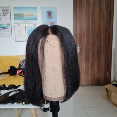 Wig Bone Straight make 3 bundle and 1 2x6 closure