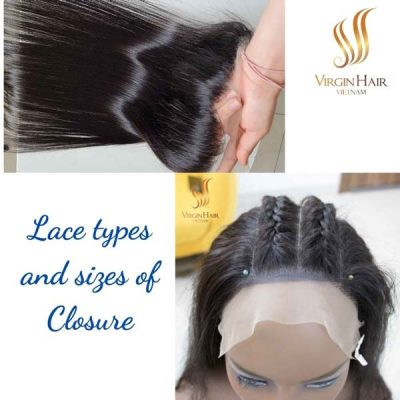 Types of Lace and Closure sizes