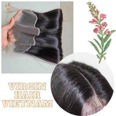 Lace frontal bone straight