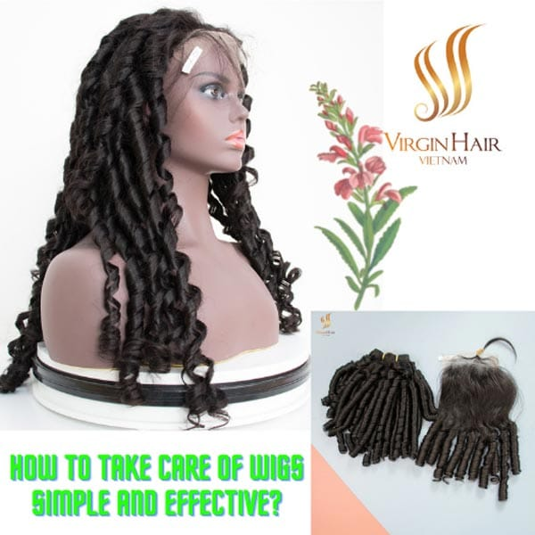 Steps Simple And Effective Wig Care