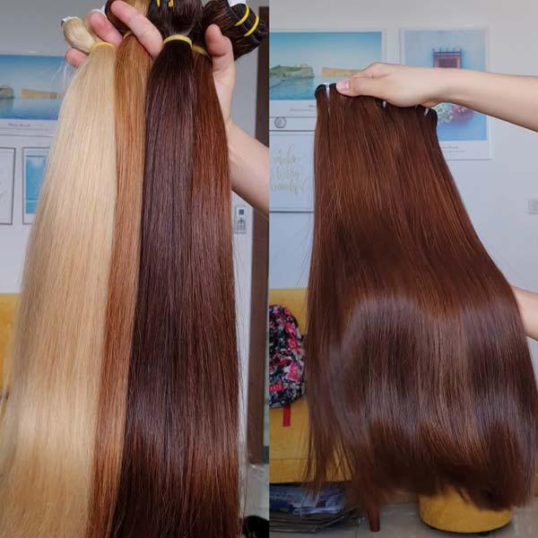 bone straight hair and natural straight hair