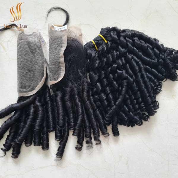hair closure - human hair lace front wig - vietnamese raw hair