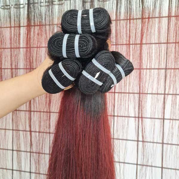 super double drawn Vietnamese raw hair