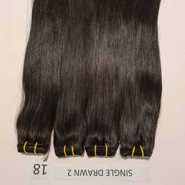 Vietnamese raw Hai_ Straight Hair 18 inch
