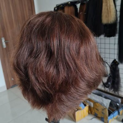 Bob wig human hair extension