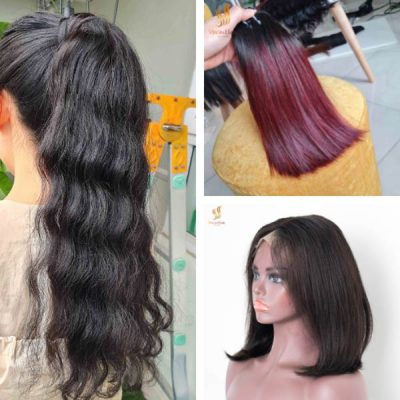 Human hair wig - hair extensions - Virgin Hair Vietnam