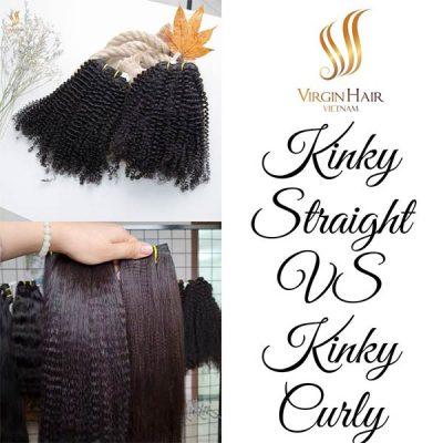 Kinky Straight VS Kinky Curly