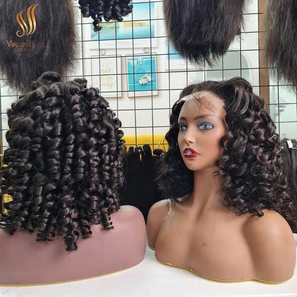 human hair lace wigs - human hair extensions - wig cap ideas