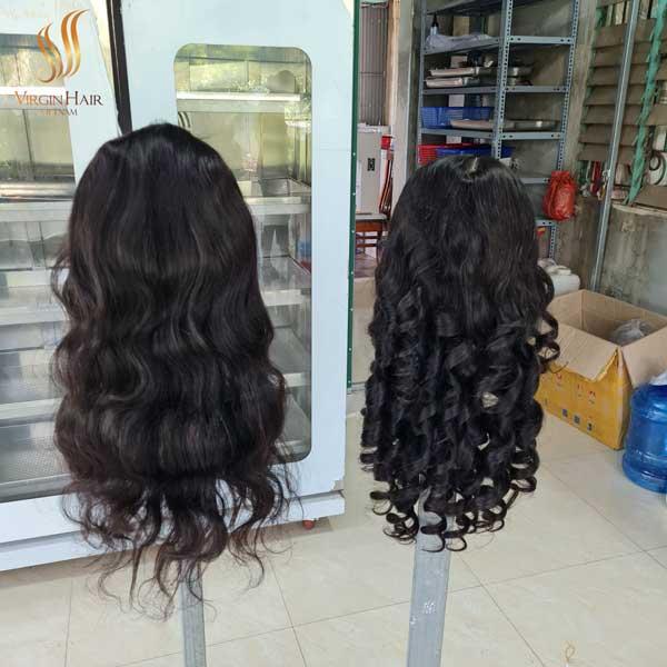 vietnamese human hair wigs - lace front wigs - vietnamese raw hair