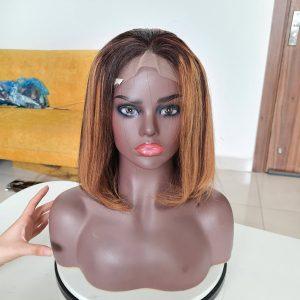 Bone Straight Hair Piano Color_ Make 2 bundle 12 inch ,1 bundle 10 inch and 1 closure 5x5 10 inch