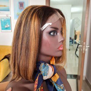 Bone Straight Hair_Piano Color_Human Hair Extension