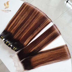 piano color hair - vietnamese hair - human hair extensions